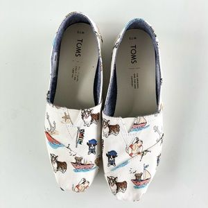Nautical Dogs Toms Shoes Size 7.5
